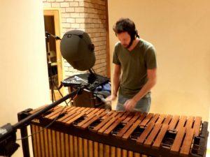 Immersive marimba