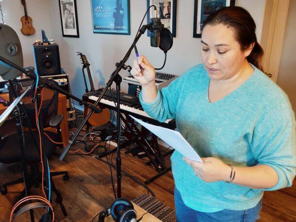 Diyet van Lieshout at Whispering Willows Recording